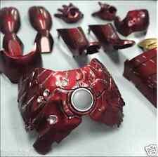 Custom Battle Damaged Armor fit hot toys 1/6  iron man mark III 3 diecast figure
