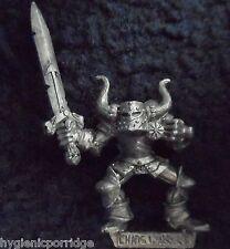 1990 Marauder MM91 Chaos Warrior A Warhammer Army Evil Hordes Champion Fighter