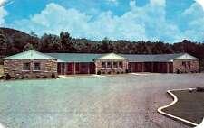 Wartburg Tennessee Schubert Motel Street View Vintage Postcard K47896