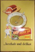 MAGGI moderne Blechschilder (ab 1960)