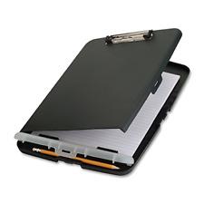 Clipboard Storage Case Box Folder Document Organizer Compartment Office Charc...
