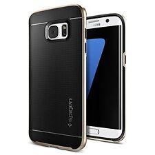 Galaxy S7 Edge Case, Spigen® [Neo Hybrid] PREMIUM BUMPER [Champagne Gold] Bumper