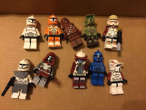 Genuine LEGO Minifig lot of 10 Star Wars trooper etc  Free shipping    a7