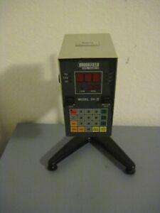 Brookfield DV II Viscometer Viskosimeter mit Stativ und Spindelsatz
