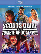 Scouts Guide Zombie Apocalypse Bluray disc/case/cover only -no digital 2016 PV