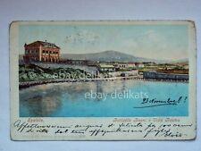 SPALATO SPLIT Botticelle bagni villa Rosina dalmazia vecchia cartolina