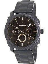 Fossil Men's Machine FS4682 Black Stainless-Steel Quartz Fashion Watch