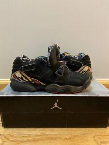 Jordan VIII 2003 Low Playoff Black/Red Del Sol GS 5.5Y