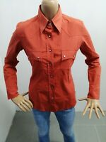 Camicia MARLBORO CLASSIC Donna Taglia Size M Shirt Woman Chemise Femme P 6409