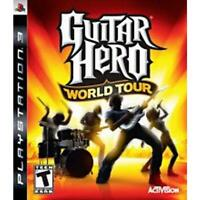 Guitar Hero World Tour Playstation 3 Game PS3 Used Complete