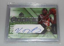 2007-08 SP Game Used Kevin Durant Rookie Exclusives Auto 096/100