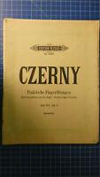 Czerny Praktische Fingerübungen Opus 802 Cah. 1 Edition Peters No.2969  H-8185