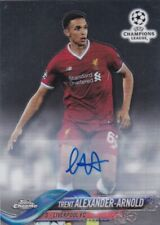 TOPPS CHROME 2017 TRENT ALEXANDER-ARNOLD LIVERPOOL AUTOGRAPH CARD MINT CONDITION