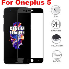 For ONEPLUS 5 Full Cover Genuine Premium Tempered Glass Screen Protector Film