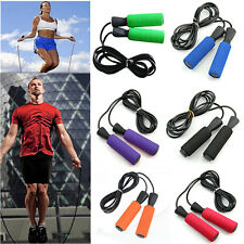 Aerobic Exercise Boxing Skipping Jump Rope Adjustable Bearing Speed Fitness js