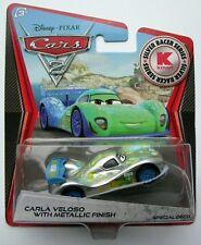Disney Cars Silver Metallic  CARLA VELOSO  Kmart Rare Over 100 Cars Listed !!