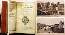 ALMANACH/DE LA COUR/1826/4 BELLES GRAVURES/RARE