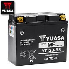 Motorrad Batterie YUASA YT12B-BS, 12V/10AH (150x69x130mm) AGM, wartungsfrei