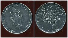 ITALIE  ITALY  vatican  50 lire  1973  ( PAUL VI )