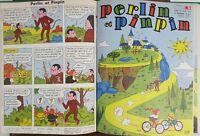 PERLIN ET PINPIN. COLLECTION DE 50 NUMÉROS. EDIT. COEURS VAILLANTS. 1962/1963.
