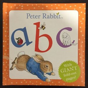 Peter Rabbit ABC with Giant fold-out pages