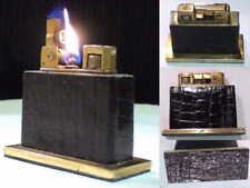 Briquet Ancien type Rowenta Welzunder Automatic Desk Lighter Feuerzeug Accendino