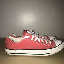 Converse Lo-Tops Size 9 Red & White Converse All Stars