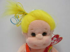 "Ty Beanie Kids ""Jammer"" PRISTINE Brand New with Mint Tags, YELLOW HAIR w/'jams'!"