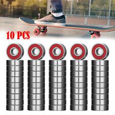 10Pcs Scooter Skateboard Wheel Bearing Roller Inline For Skate Board Bearings