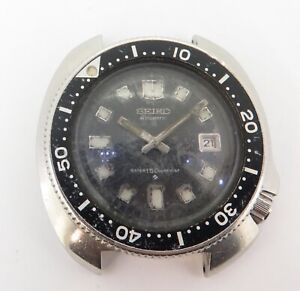 Vintage Seiko 6105 - 8110 Steel Mens 150m Divers Watch - unpolished Case No Res!