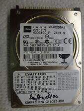 Tosiba MK4025GAS 40GB 2,5 Zoll  PATA 100 MBit 4200RPM läuft nicht an PCB Platine