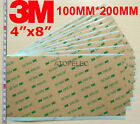 """3M 300LSE Double Sided SUPER STICKY HEAVY DUTY SHEET of ADHESIVE TAPE 4""""x8"""""""