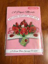 Paper Miracle Pop Up Greeting Card Valentines Day Roses