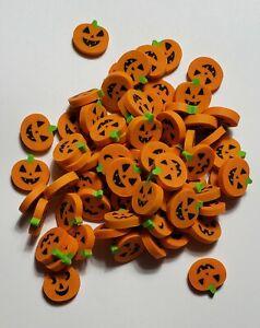 Lot of 40 Mini Autumn Halloween Jack-O-Lantern Pumpkin Small Pencil Eraser