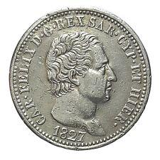 [NC] CARLO FELICE - 1 LIRA 1827 - TORINO (nc5031)