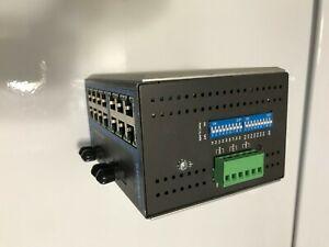 MOXA EDS-316 ETHERNET Managed Ethernet Switch