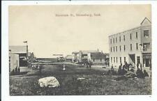 Post Card Postcard Strassburg SK Canada Mountain Street