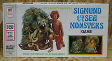 Sigmund and The Sea Monsters Game Milton Bradley Sid and Marty Kroft 1975