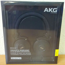 AKG K619 DJ Headphones Remote Folding Design Mic for iPhone, iPad & iPod BLACK