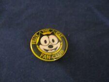 Felix The Cat Fan Club Promo Pin Button Pinback