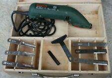 kit menuisier bois burins spatules BOSCH electrique 0603316703 OCCASION Bon etat