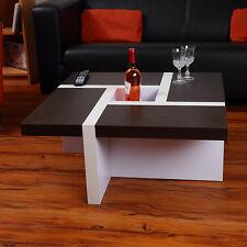 Couchtisch Beistelltisch Wohnzimmertisch Tisch Glastisch Weiß Schwarz Braun NEU