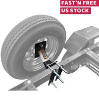 Boat Trailer Spare Tire Mount Carrier Wheel Cargo Holder Durable Powder Coat