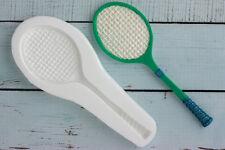 Silicone Mould, Large Tennis Racquet , Food Grade, Ellam Sugarcraft  M0173