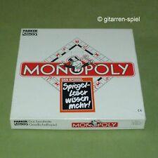Der Spiegel Monopoly Werbe-Ausgabe Spieleklassiker Parker DM-Version rar 1A Top