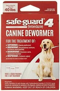 8in1 Safe-Guard Canine Dewormer for Large Dogs 3 Day Treatment (packaging may va