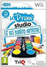 Studio - E Sei Subito Artista  - uDraw  - Nintendo WII (Edizione Italiana)