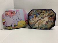Disney DUMBO 55th ANNIVERSARY Commemorative 6 SHARP POINT PIN SET Collector Tin