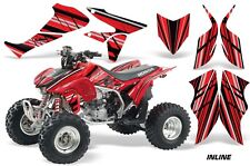 Honda TRX 450R AMR Racing Graphic Kit Wrap Quad Decal ATV 2004-2014 INLINE RED
