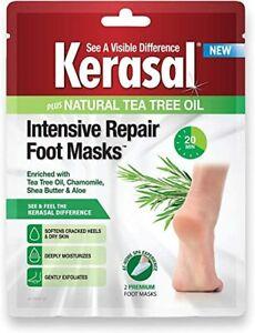 Kerasal Intensive Foot Repair Masks 2ct